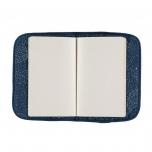 Protège carnet de santé - Bleu nuit