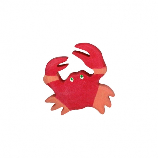 Crabe en bois