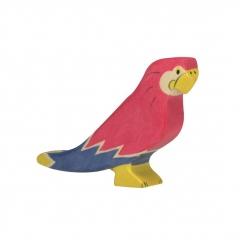 Perroquet en bois