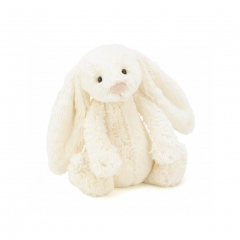 Doudou Lapin - Crème - 18 cm