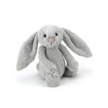 Doudou Lapin - Gris - 18 cm