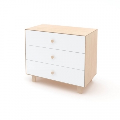 Commode Merlin Sparrow 3 tiroirs - Blanche