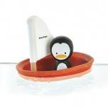 Jouet de Bain Bateau Pingouin