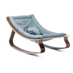 Transat bébé Levo Noyer - Aruba bleu