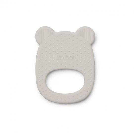 Anneau de dentition silicone - Ours gris
