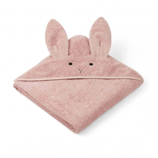 Cape de bain Lapin - Rose