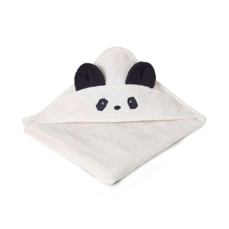 56b591a9b7570 Cape de bain Panda Liewood - Petit Sixième