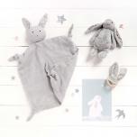 Doudou Lange - Lapin gris