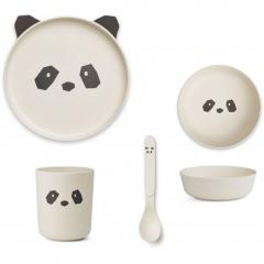 Vaisselle Bambou - Panda