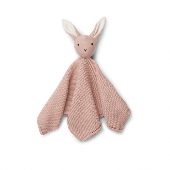 Doudou Maille Milo - Rabbit Rose