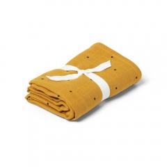Lange x 2 Hannah - Classic dot mustard
