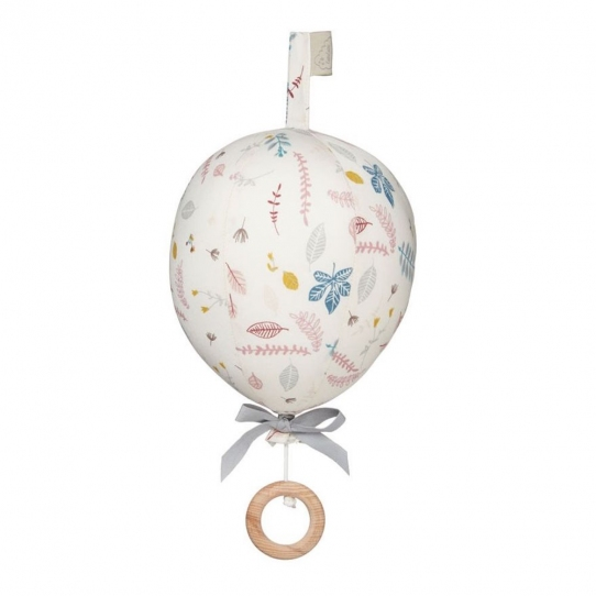 Cam Cam Mobile Ballon Musical - Feuilles