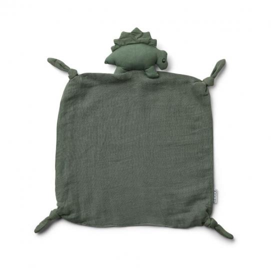 Doudou Lange - Dinosaure vert