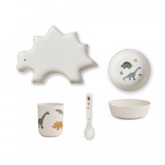Vaisselle Bambou - Dinosaure