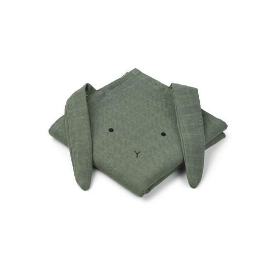 Lange Lapin vert x2