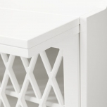Commode/ Table à langer - Blanche