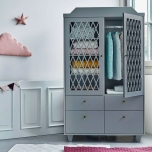 Armoire Arlequin - Grise