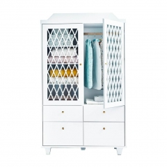 Armoire Harlequin - Blanche