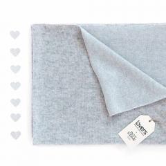 Couverture cachemire - Gris et Bleu