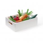 Caisse de légumes en bois