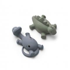 Jouet pour le bain Algi x2 Dino - Blue mix