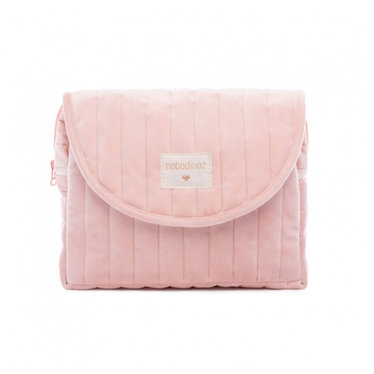 Trousse de toilette Velvet - Rose