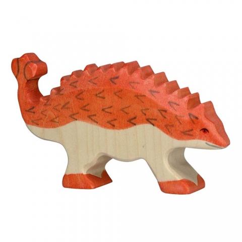 Ankylosaure en bois
