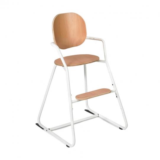 Chaise haute bébé évolutive Tibu - Blanche