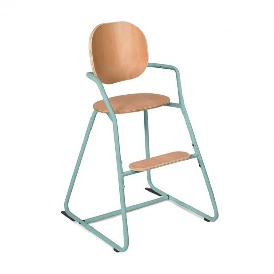 Chaise haute bébé évolutive Tibu - Bleue