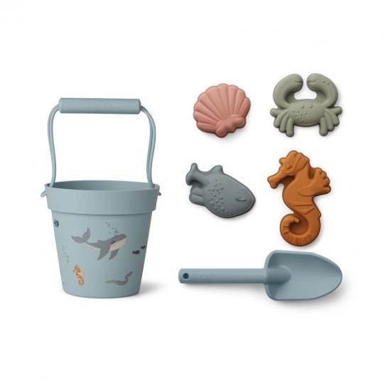 Set de plage - animaux de mer