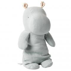 Doudou Hippopotame Aqua - Médium