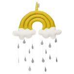Mobile arc-en-ciel - moutarde