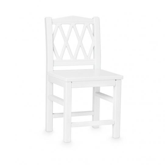 Chaise enfant Harlequin - Blanc