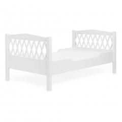 Lit junior Harlequin 90x160 - Blanc