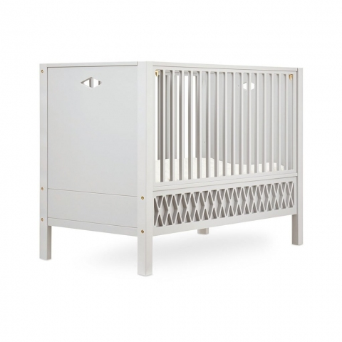 Lit bébé Harlequin 70x140 - Beige