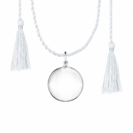 Bola Joy - Argent - Cordon gris clair