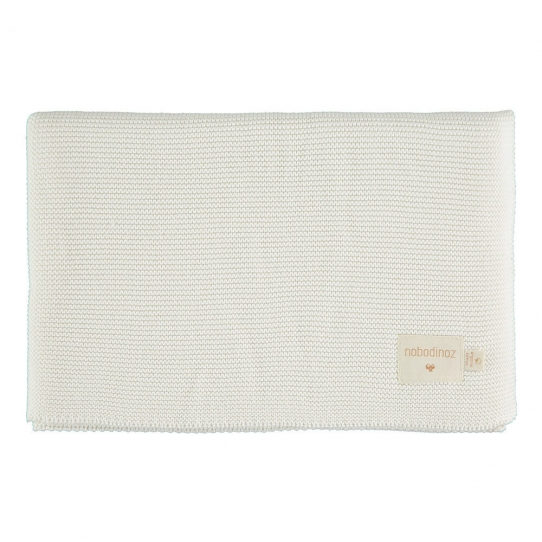 Couverture en tricot - Milk