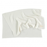 Couverture en tricot - Milk