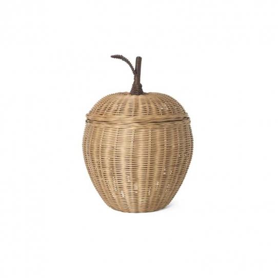 Panier pomme en osier - small