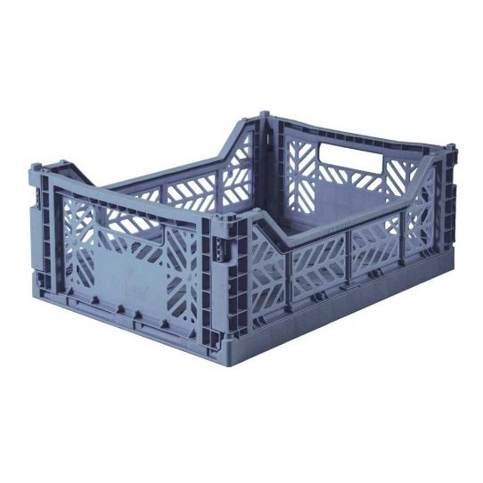 Caisse de rangement Medium - Bleu cobalt