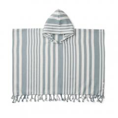 Poncho Roomie - Sea blue sandy