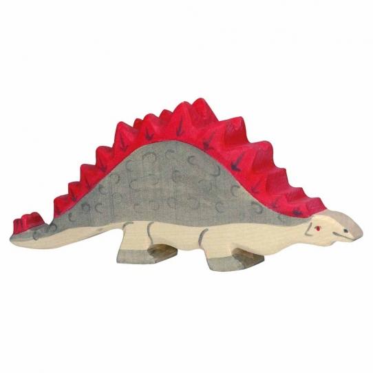 Stégosaure en bois