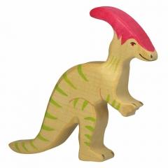 Parasaurolophus en bois