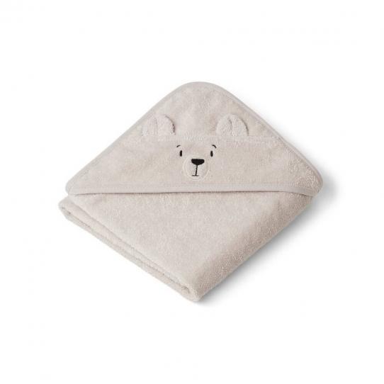 Cape de bain bébé Albert - Ours polaire