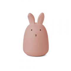 Veilleuse rechargeable - Lapin rose
