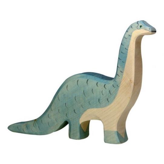 Brontosaure en bois