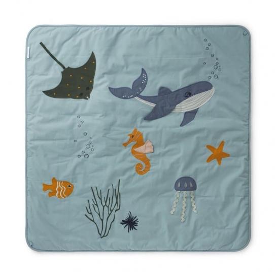 Tapis d'éveil - Animaux de la mer