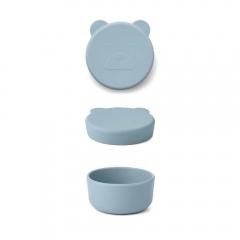 Boîte Carrie 8,3 cm - Mr Bear sea bleu