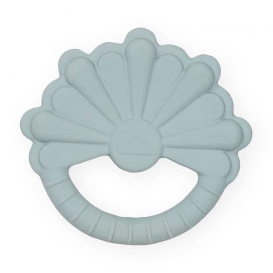 Anneau de dentition - Fleur Pétrole