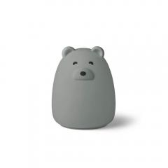 Veilleuse rechargeable Winston - Mr Bear dove blue